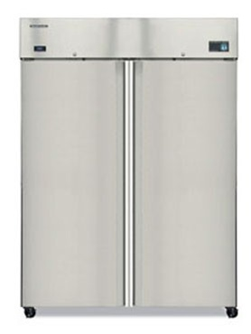 Two Door Refrigerator by Hoshizaki.   Call us now for ZERO percent financing on this item.